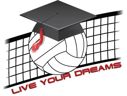 Volleyball Scholarship Volleyball Senior Night Volleyball Volleyball Clipart
