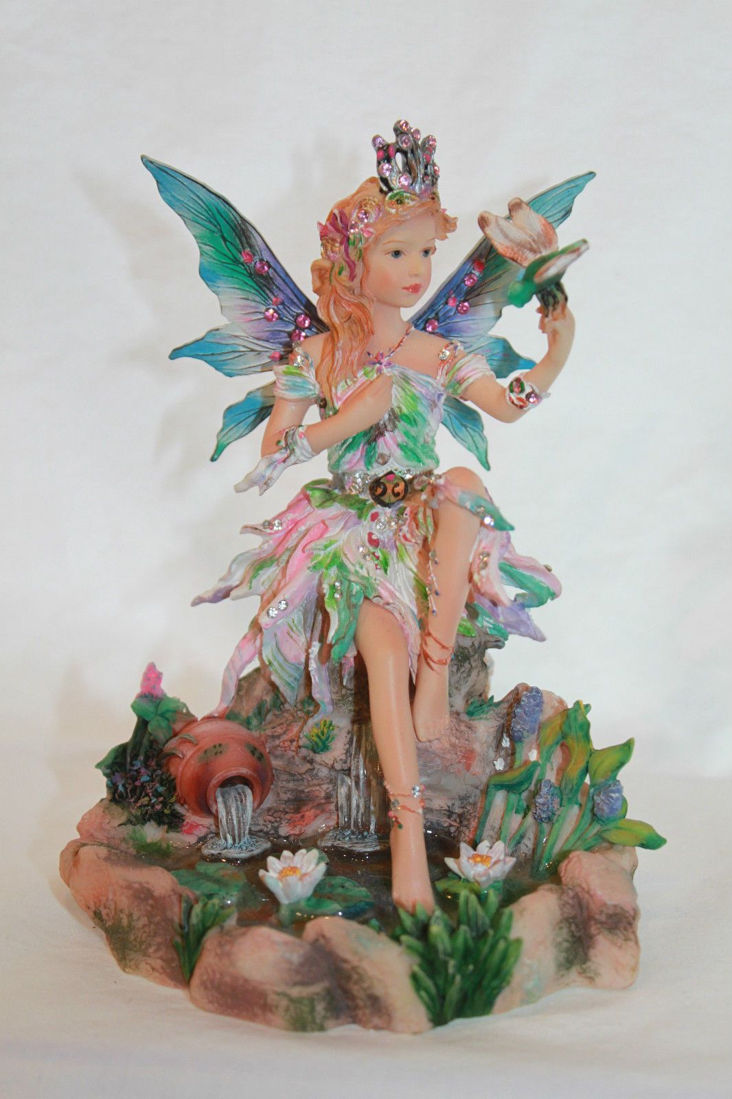 Faerie Statues Faerie Poppets By Christine Haworth By Shimmering Waters Art