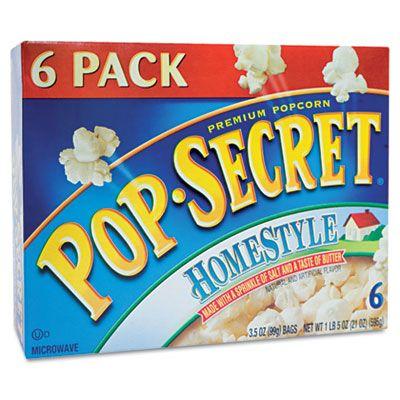 Best Salty Snack Pop Secret Microwave Popcorn Homestyle