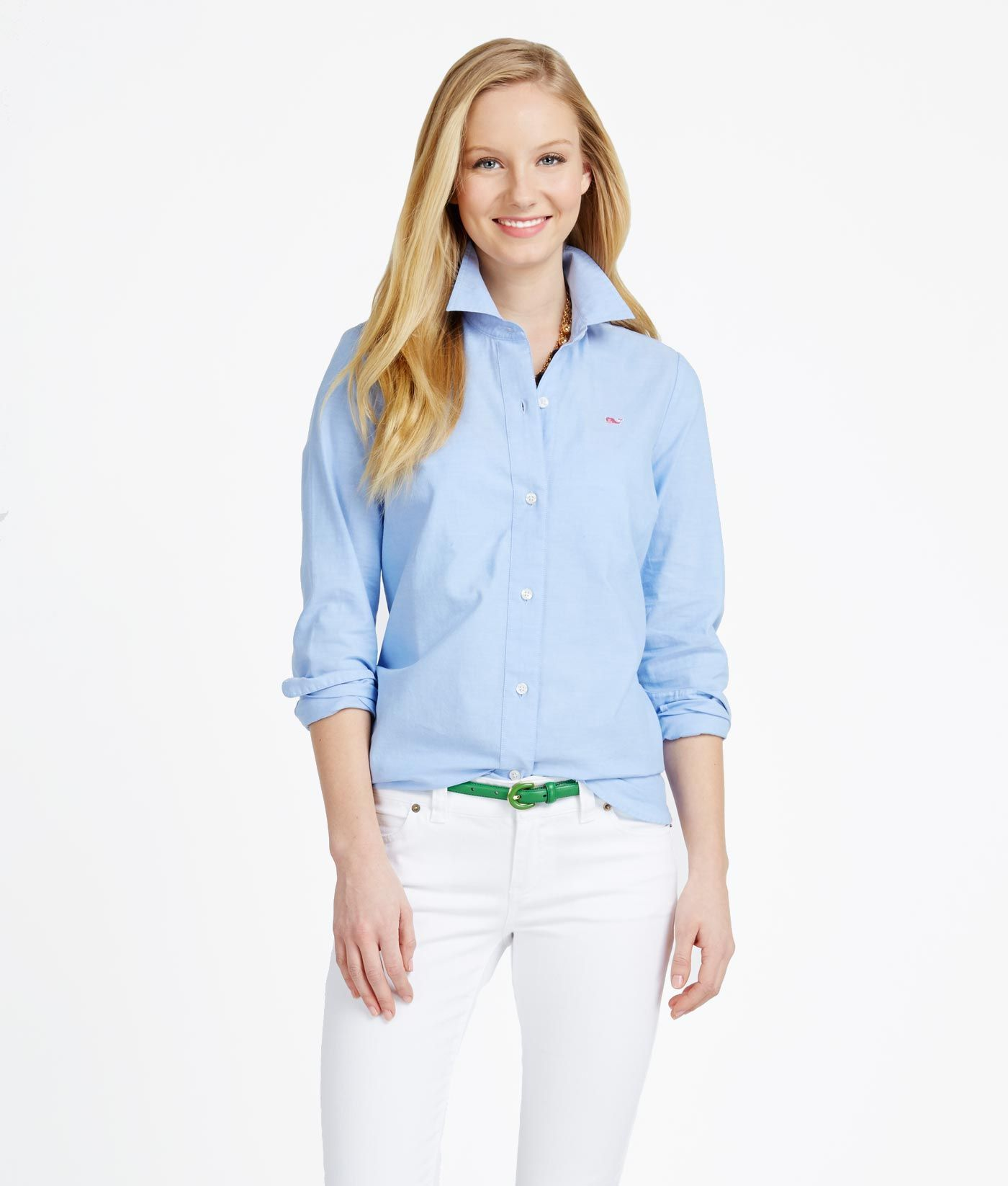 651ed082 Women's Button Down Shirts: Oxford Shirt for Women– Vineyard Vines ...