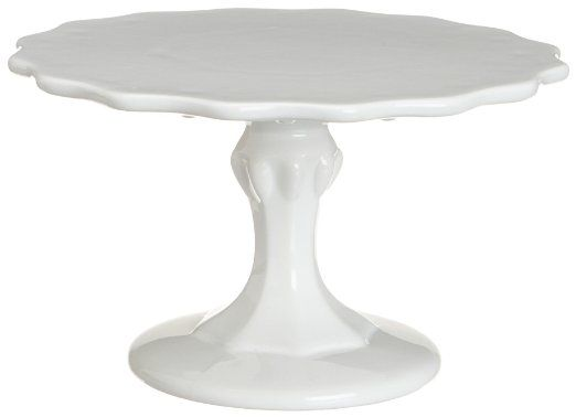 Amazon.com: Rosanna Small 9-Inch Pedestal, White: Kitchen & Dining