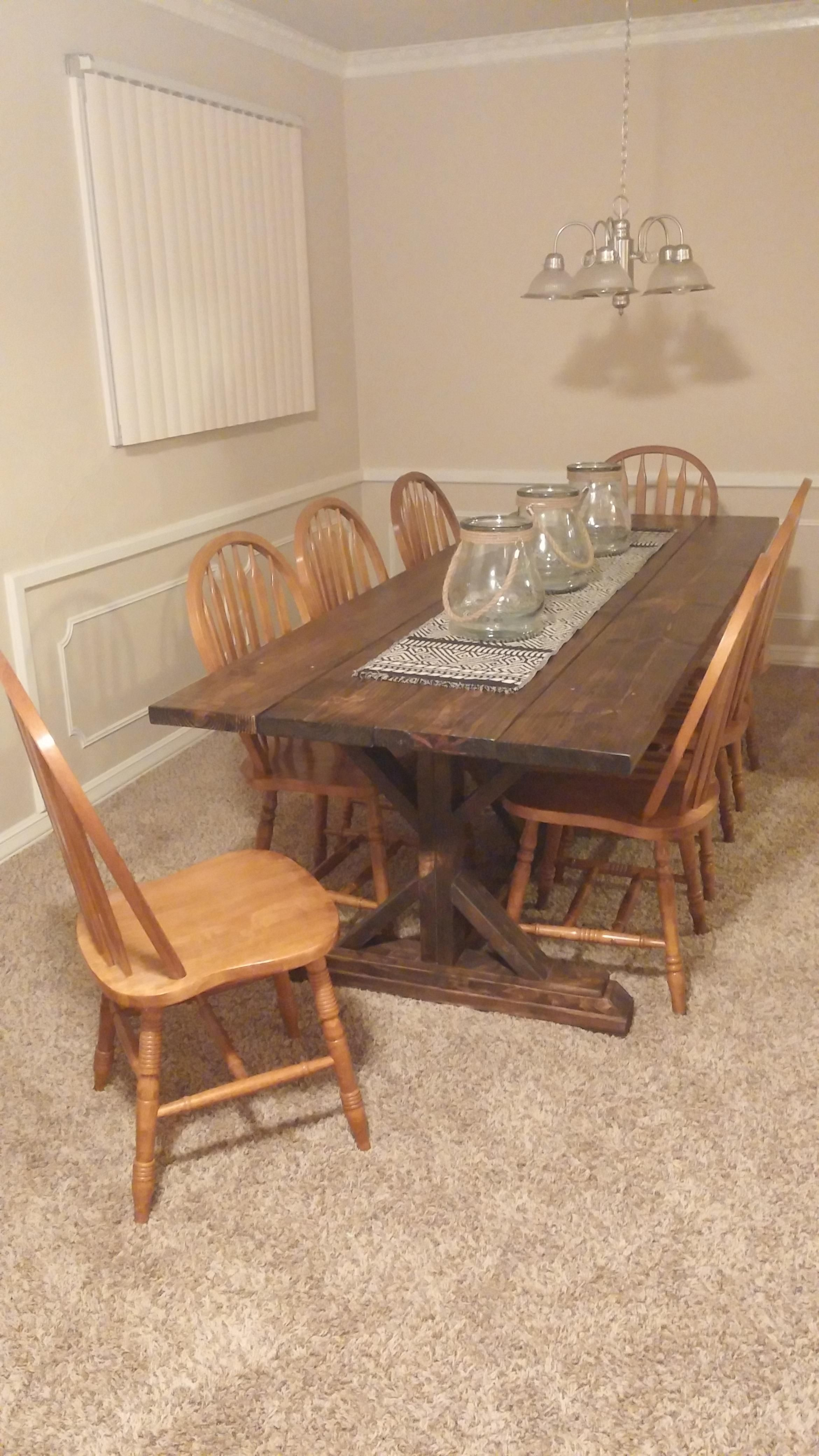 Diy Viking Banquet Table Dining Table Dining Table Decor