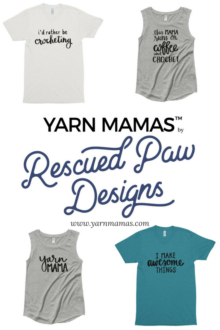 2cfd23c2 Crochet Shirts from Yarn Mamas | Rescued Paw Designs Crochet ...