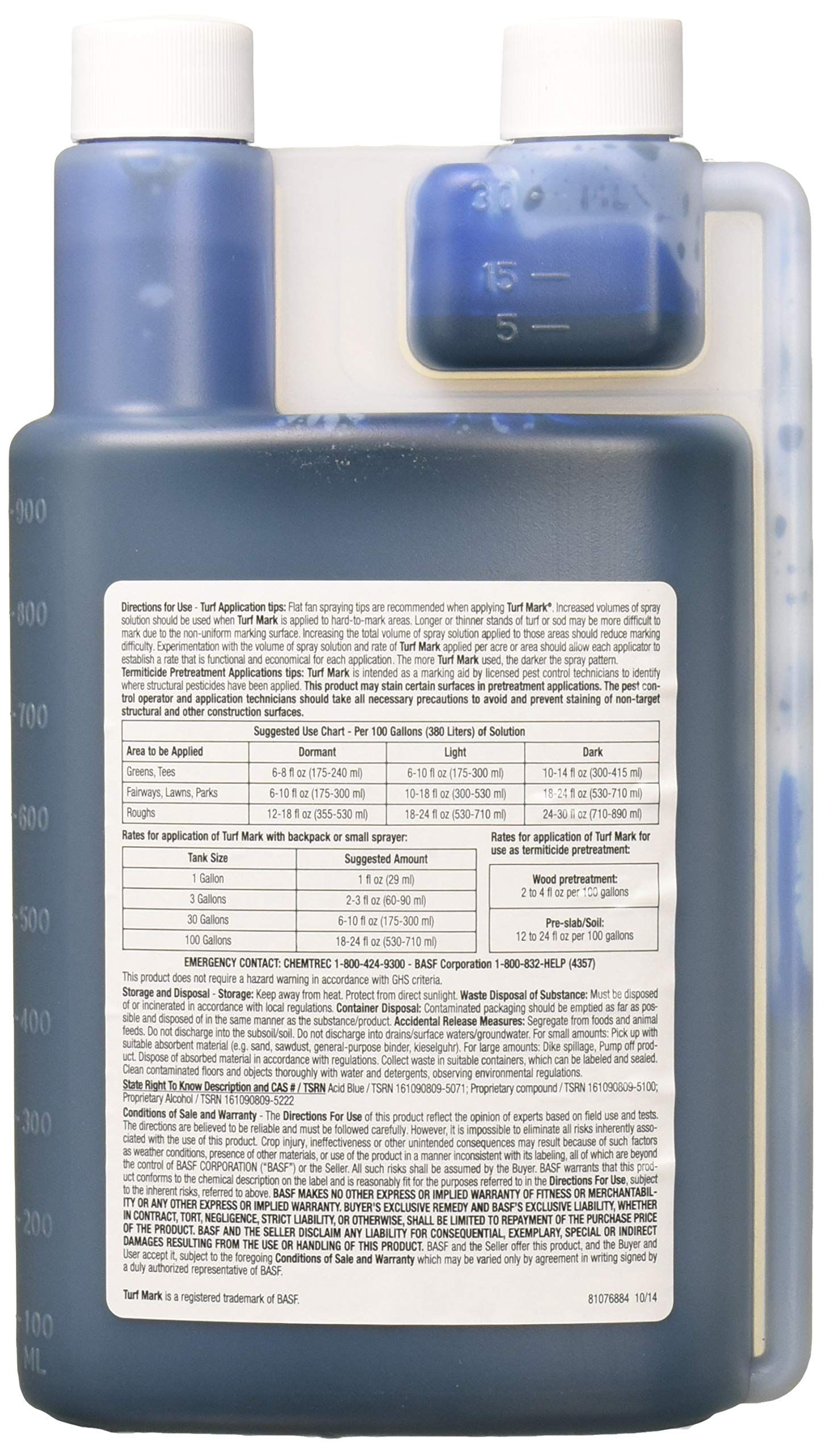 Basf 10059 Blue 32oz Turf Mark Details Can Be Found By Clicking On The Image This Is An Affiliate Link Pestcontrol In 2020 Pest Control Staining Wood Stain
