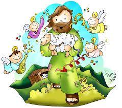 Imagenes De La Parabola Del Buen Pastor Busca De Google Infancia Missionaria Desenhos Biblicos Catequese