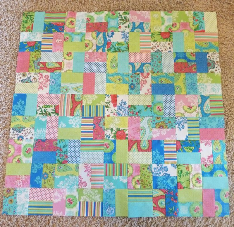 Lily Ashbury Charm Pack Quilt Top | Quilt Tutorials | Pinterest ... : charm pack quilt patterns free - Adamdwight.com