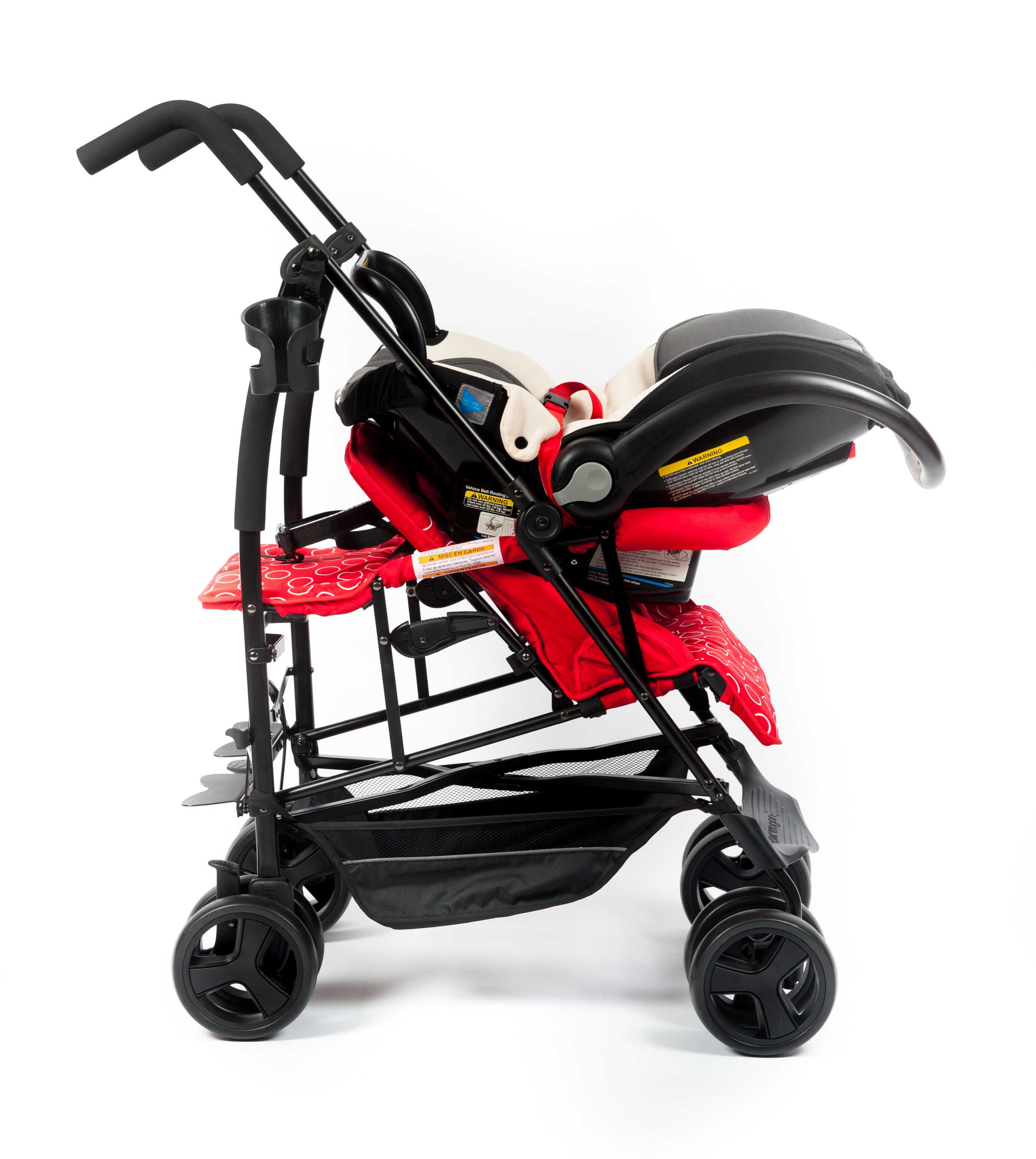 Kinderwagon Jump. A compact double stroller. Shown here ...
