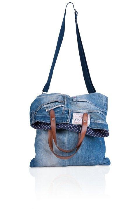 Denim Bag Accessories Man Ss13 Replay Online
