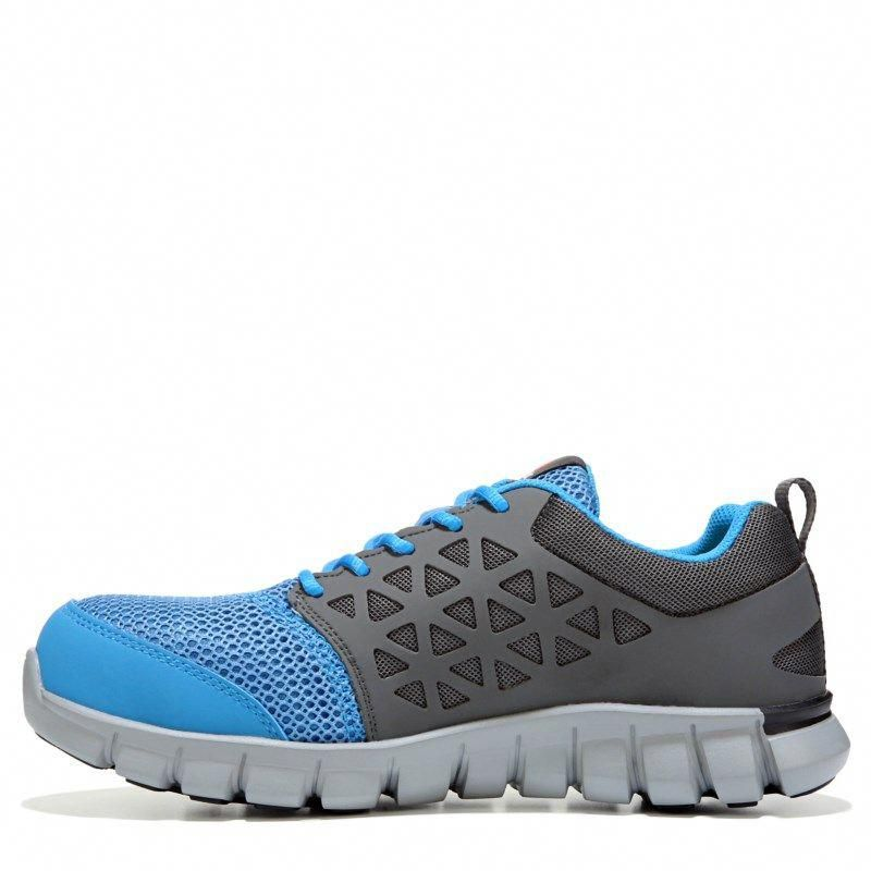 f3fb9b1449bb Reebok Work Men s Subtile Cushion Medium Wide Alloy Toe Sneakers (Blue)   widemenssneakers