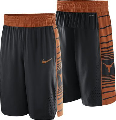 Texas Longhorns Nike Authentic Basketball Shorts  longhorns  texas  college 25d618559393