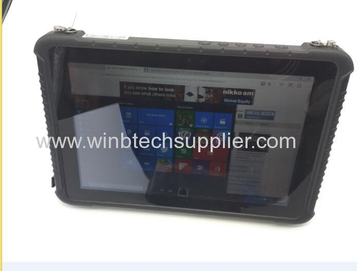 10inch Or 12inch 8inch Windows 10 Or Android Tablet Rugged Rfid Nfc Fingerprint Barcode Rugged Tablet 4g Lte Android Tablets