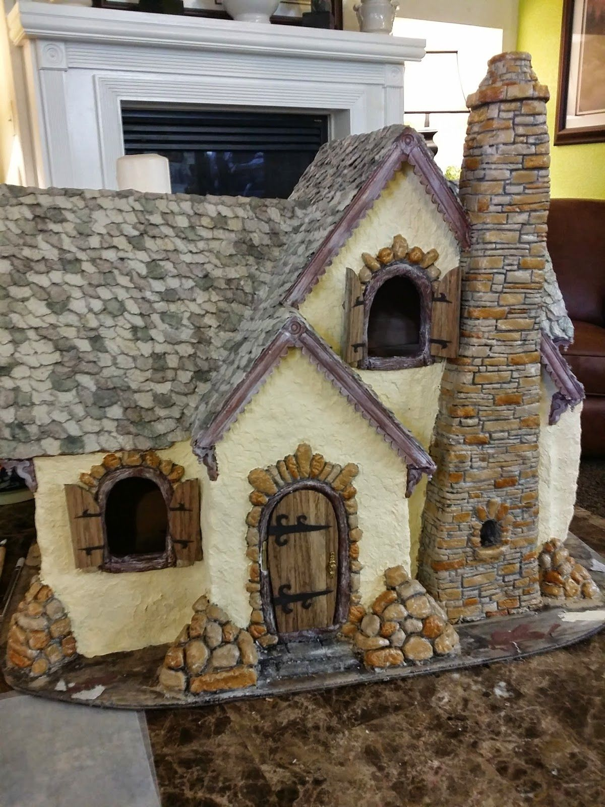 Kits are okay but how much more fun to build your own for How to make your own dollhouse