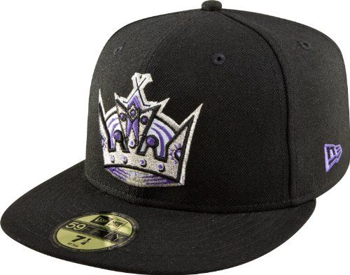 Robot Check Fitted Hats Los Angeles Kings King Hat