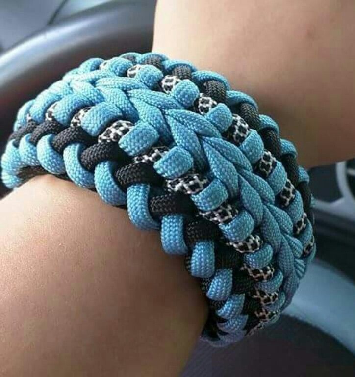 survival cord bracelet how to make
