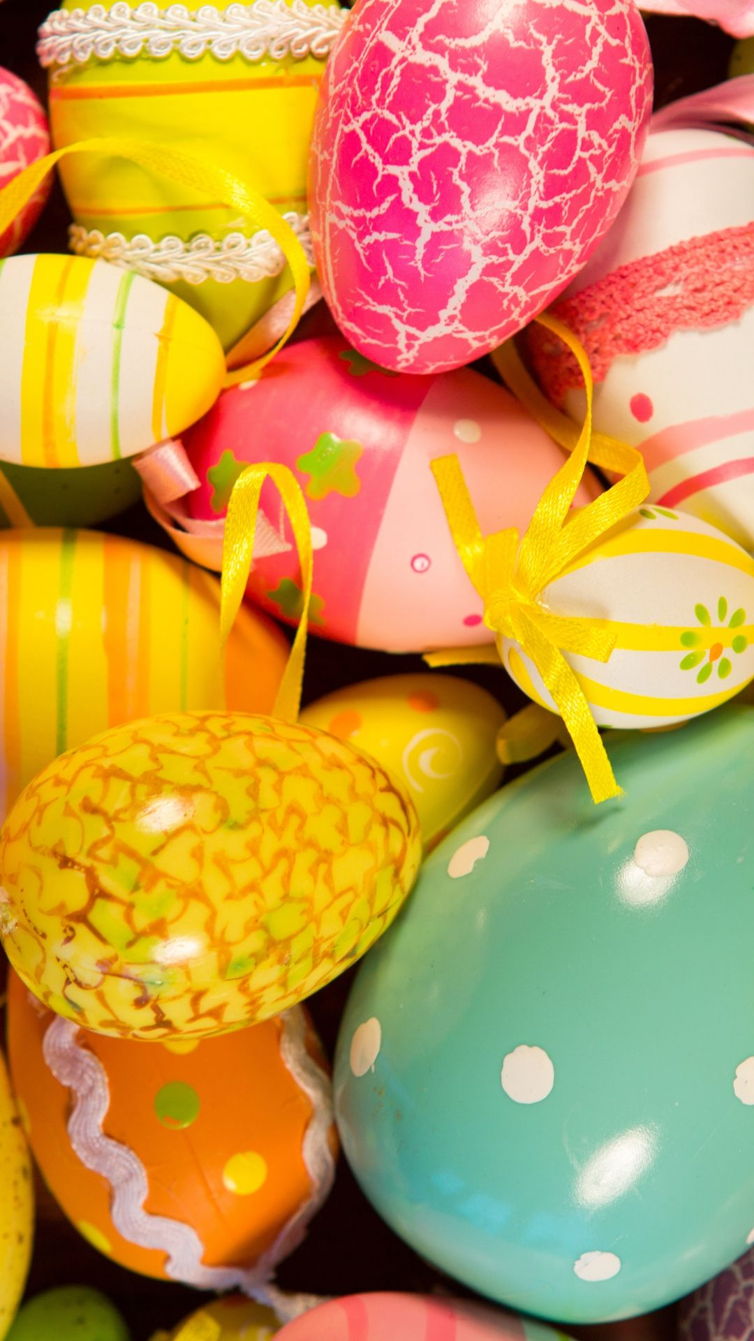 Easter Painted Eggs Holiday iPhone 6 plus wallpaper