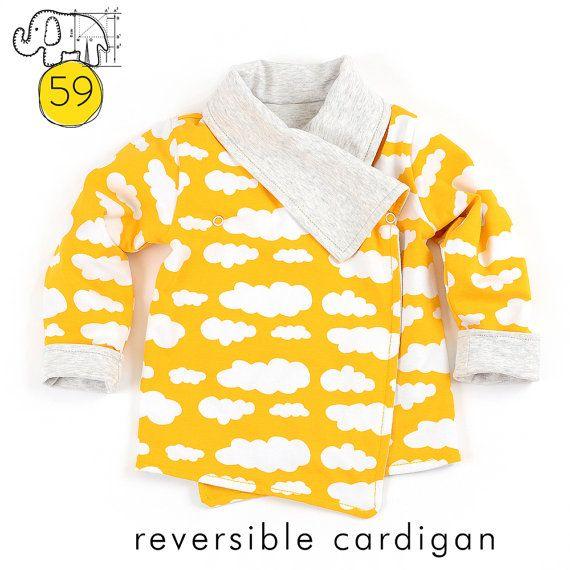 Reversible wrap cardigan sewing pattern // photo tutorial // instant ...