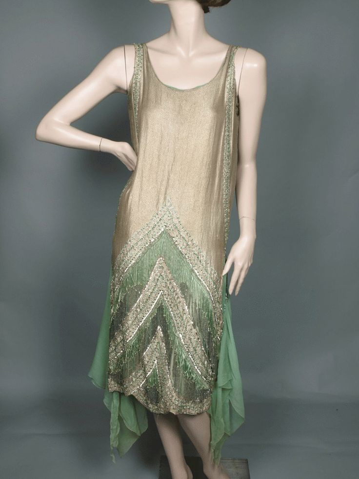1920s evening gown - | Art Deco | Pinterest | 1920s, Gowns and Vintage