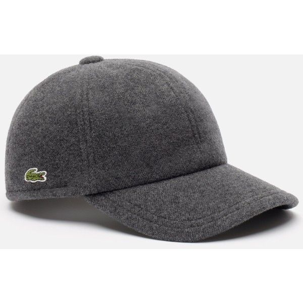 Mens Poly Baseball Cap Lacoste