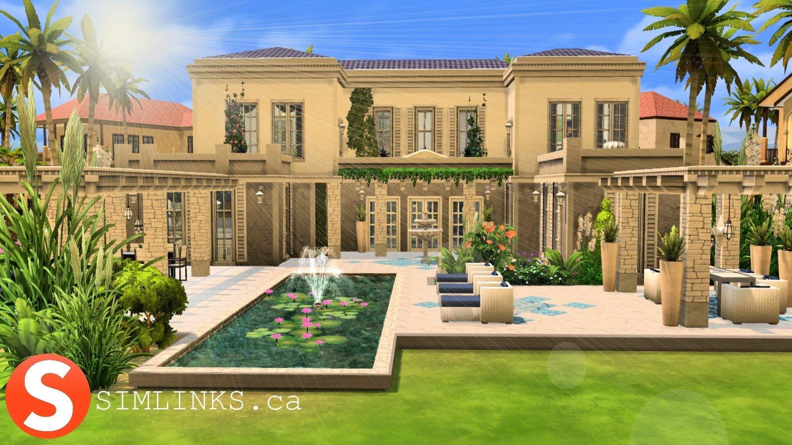 The Sims 4 Speed Build The Greek Villa Greek villas