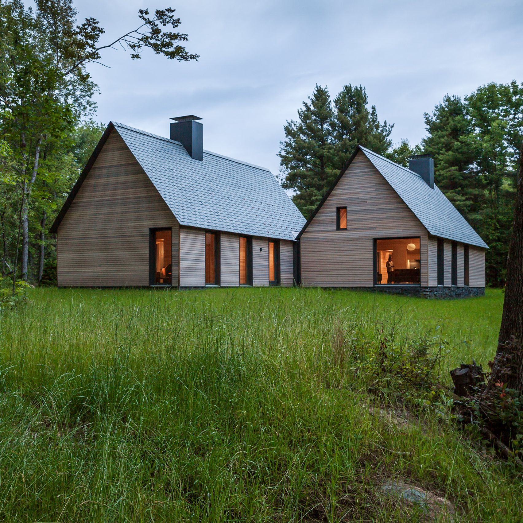 Five Of The Best Houses From The American State Of Vermont On Dezeen Cottage Design Contemporary Cottage Architecture