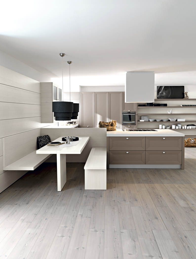Awesome cucine con panca pictures for Panche angolari per cucina