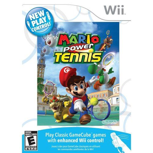 New Play Control Mario Power Tennis Game Searches Gamecube Games Mario Wii