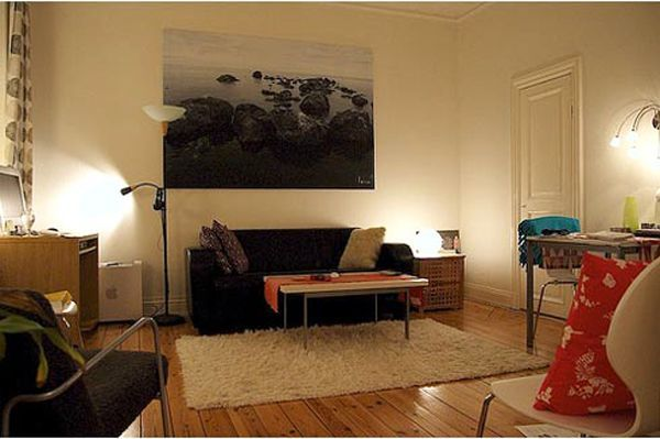 Dark Furniture Living Room Property 8 ways to lighten up a dark and gloomy space | dark living rooms