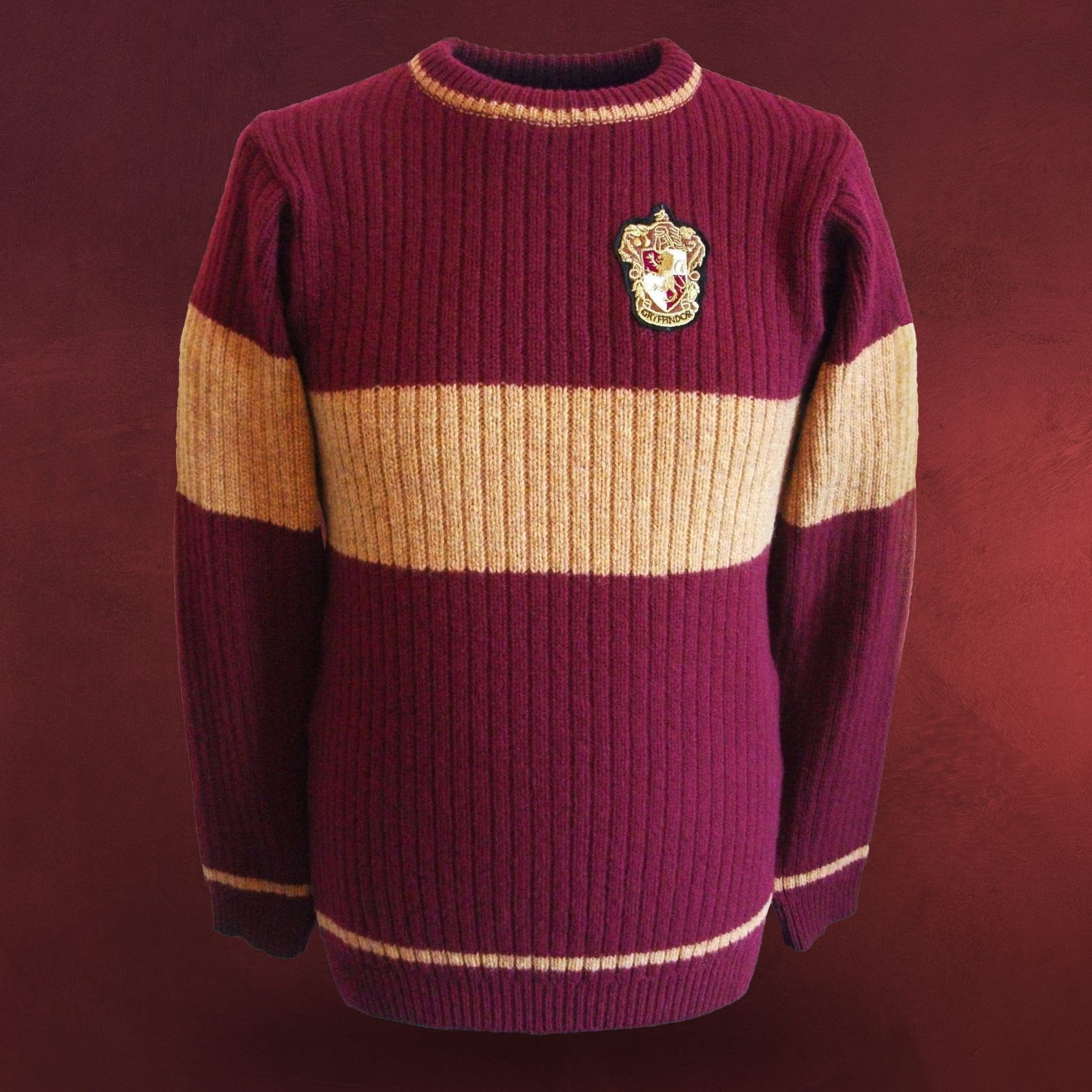 Harry Potter - Quidditch Gryffindor Sweater   getting dressed up ... 564ad92536d