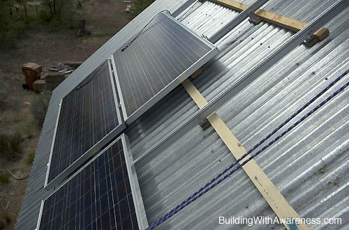 How To Mount Photovoltaic Solar Panels To A Metal Roof Solar Panels Metal Roof Corrugated Metal Roof