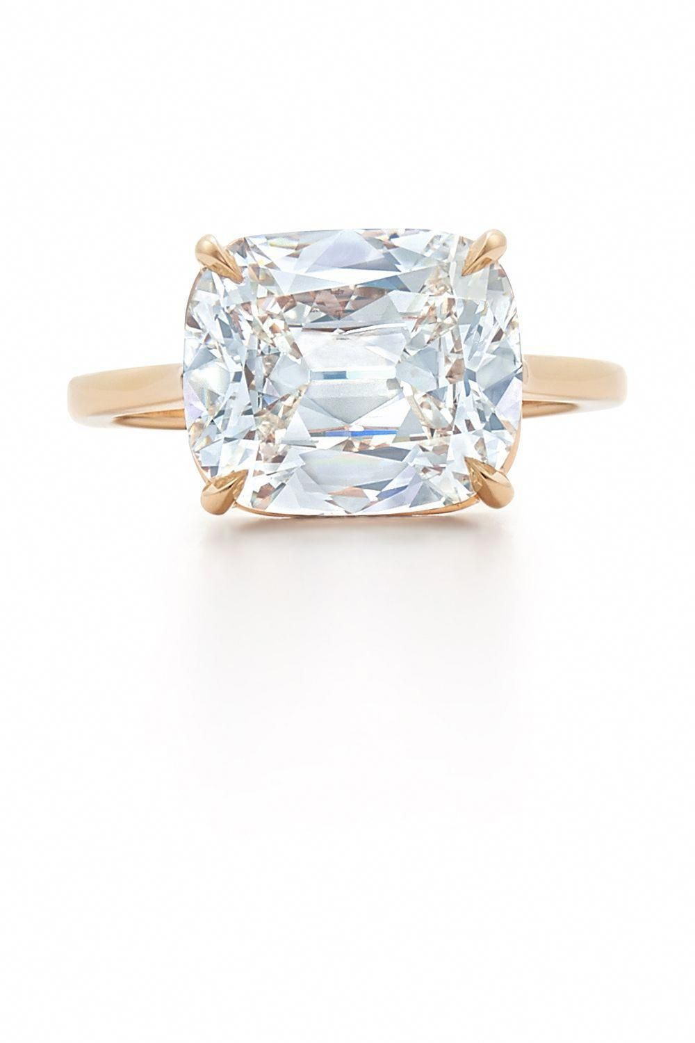 10603de3adf9 25 Cushion-Cut Engagement Rings to Swoon Over- HarpersBAZAAR.com   gorgeousfinerings