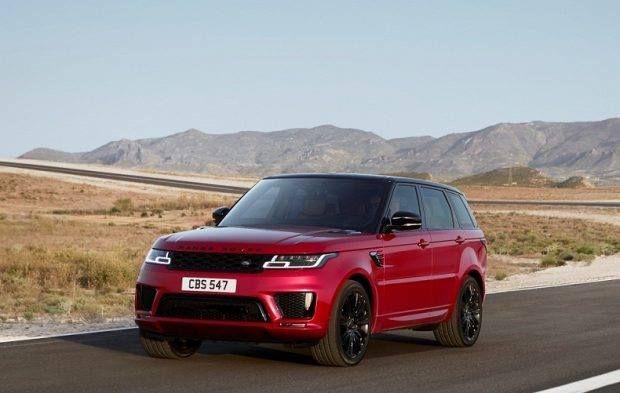 جاكوار تطلق رينج روڤر سبورت الجديدة 2018 بمعرض دبي الدولي للسيارات Range Rover Sport Land Rover Range Rover