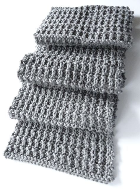 A Scarf Pattern That Isnt Beyond My Meager Abilities Projects To