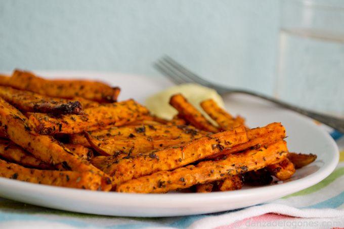 Boniatos Al Horno Recipe Baking Sweet Potato Vegans