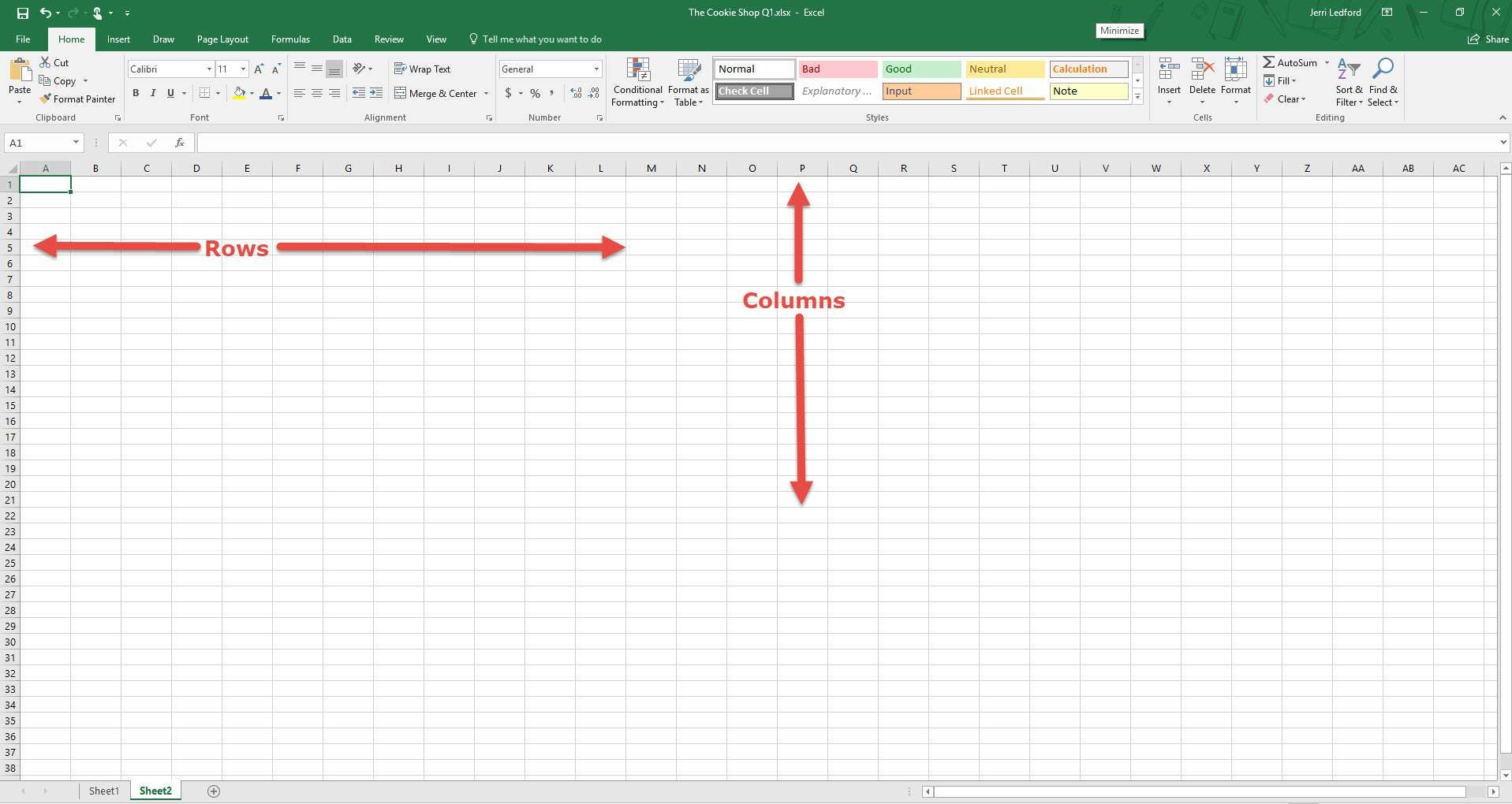 Pin Di Excel Template