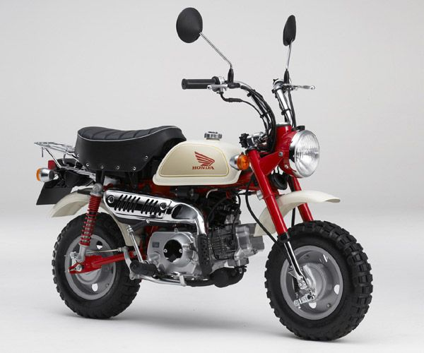 Honda Monkey Motorcycle In 2020 Mini Bike Old Honda Motorcycles Honda Msx 125