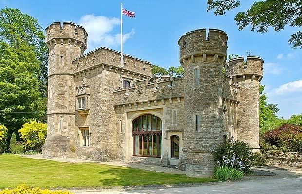 On The Property Market A Home With A Flagpole Telegraph Castle House Castle House Plans Small Castles