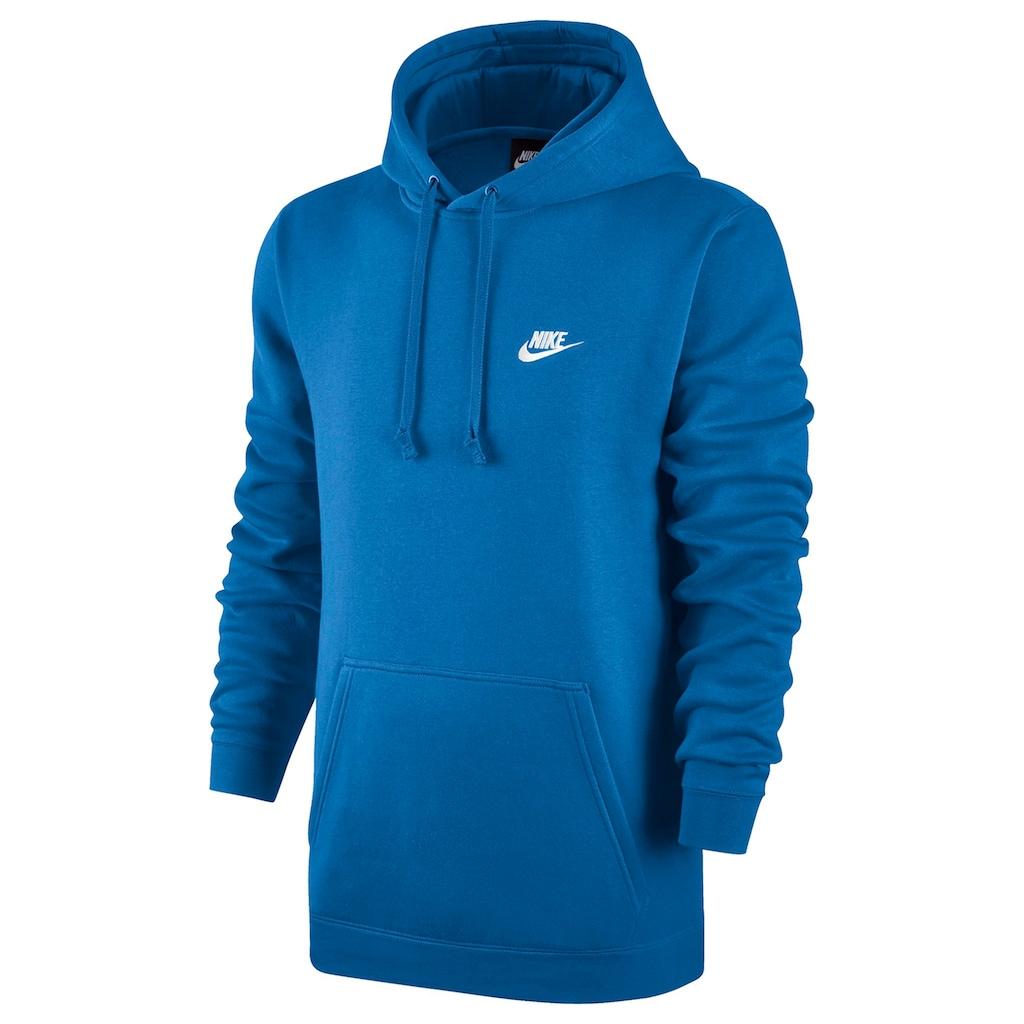 18d904578bac Nike Men s Club Fleece Pullover Hoodie