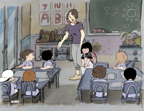 Blair in the school!! ! Alasxe! Original animation proyect ( IT'S A SKETCH, NOT FINAL) 2016 https://www.instagram.com/alasxe/https://es.pinterest.com/alasxe/alasxe-artbook/ALASXE! DEVIANTART—>http://alasxe.deviantart.com/ALASXE! PORTFOLIO–>https://alasxe.carbonmade.com/