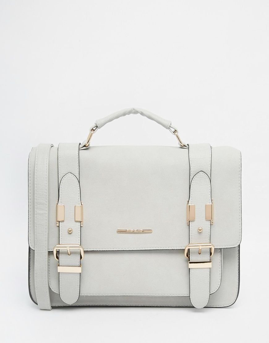 River Island Grey Large Satchel | Shoes, Purses and more ...