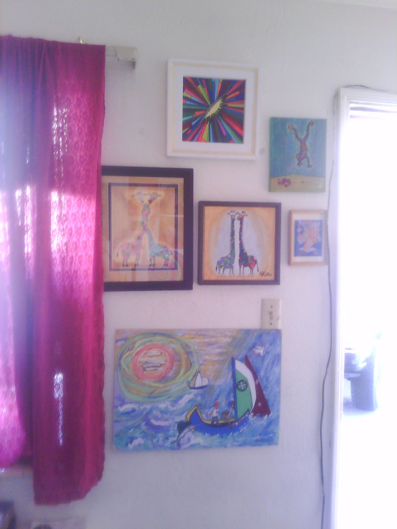 Motel Room Interiors: Another View Inside Our Motel Room At The Rancho Sierra On