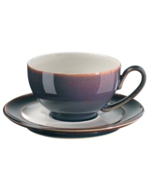 Denby Dinnerware Amethyst Teacup  sc 1 st  Pinterest & Denby Dinnerware Amethyst Teacup | Pretty Things | Pinterest | Teacup