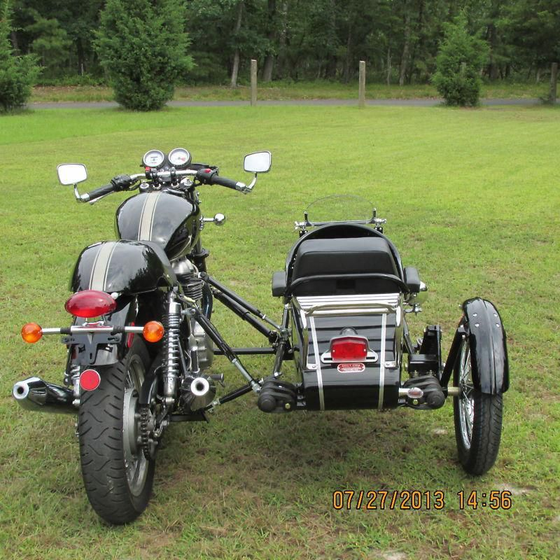 triumph rocket iii watsonian sidecar   classic motorcycles