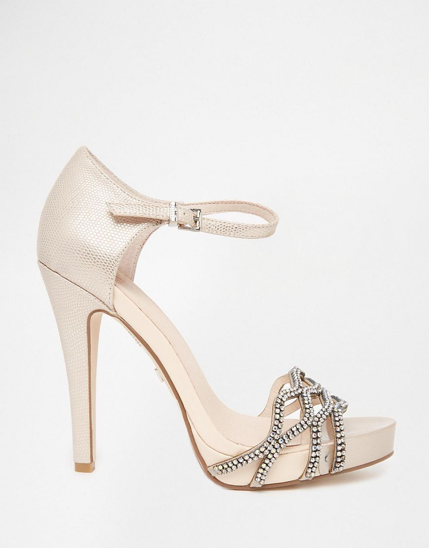 Image 2 of Faith Lethal Nude Occasion Heeled Sandals