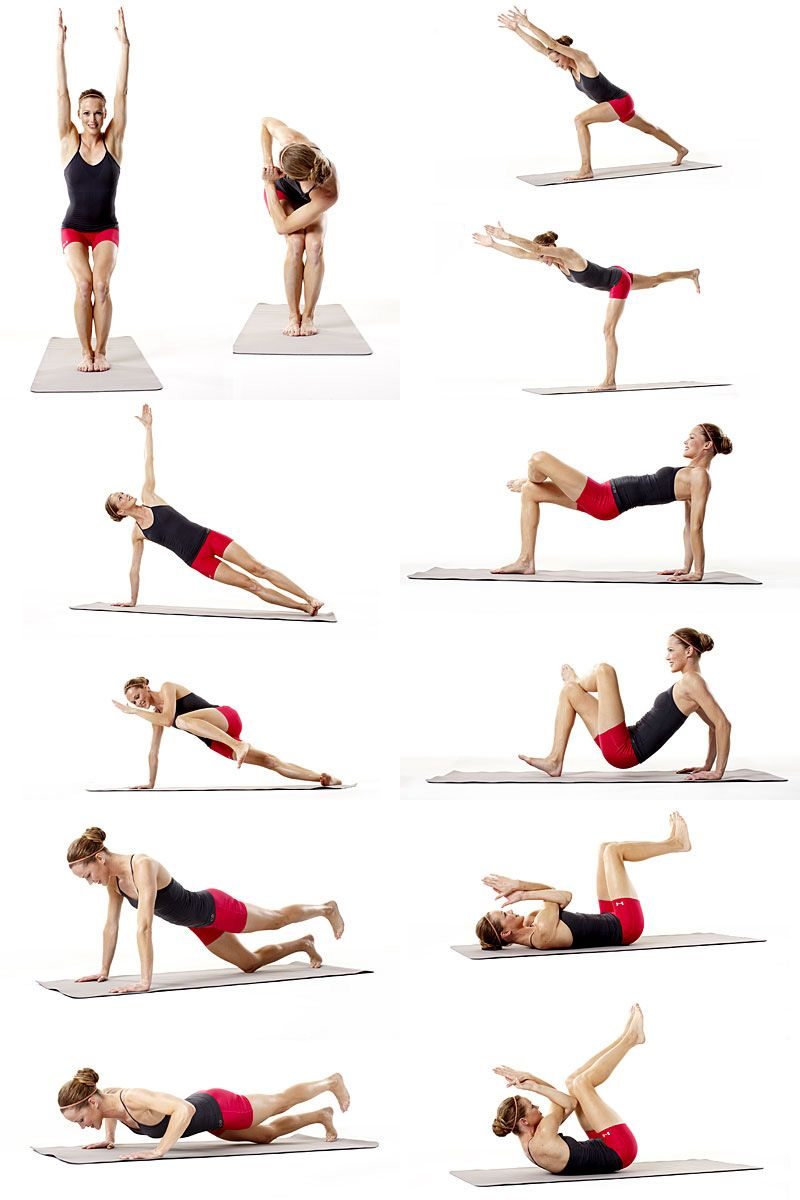 Гимнастика для похудения i уроки