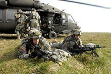 173rd Soldiers conduct air assault training in Germany (2007)