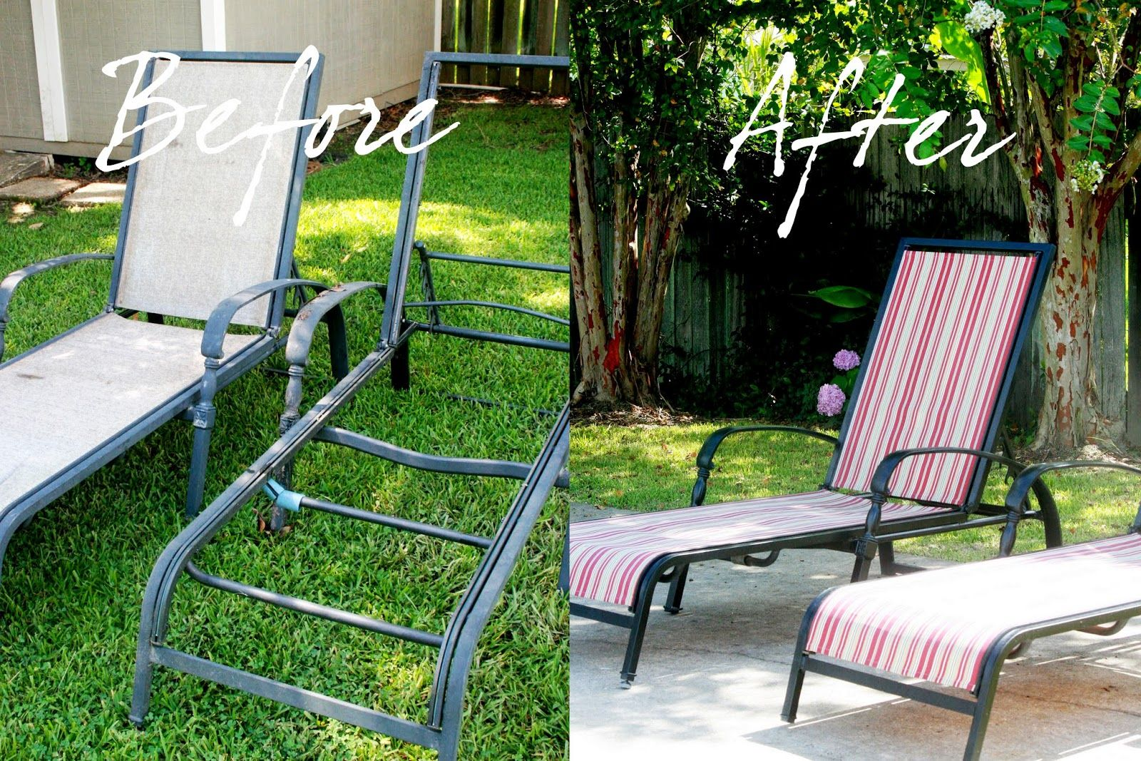 Recover Your Old Chaise Lounge Chairs Lounge Chair Outdoor