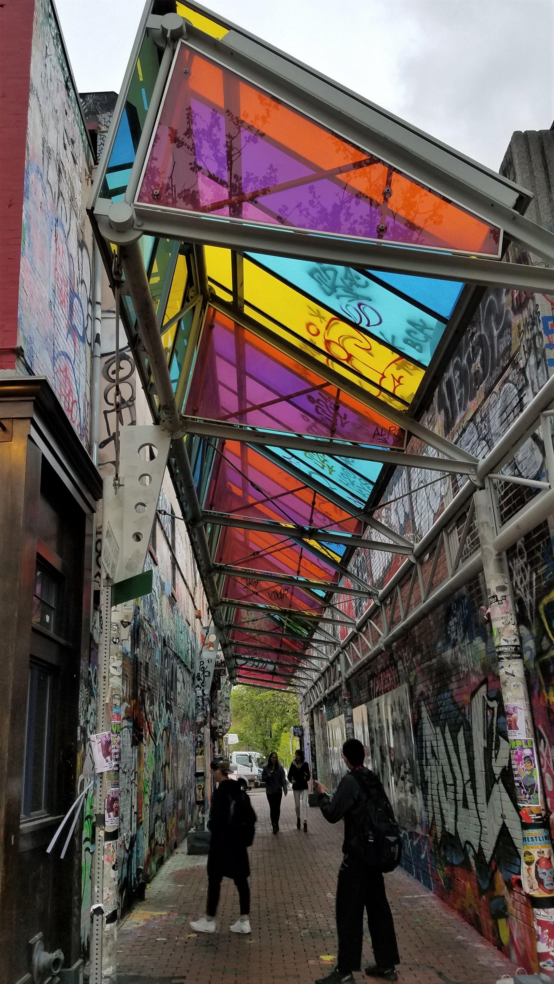 Graffiti wall cambridge - Cambridge Massachusetts Street Art Graffiti This Is The Art Alley In Central