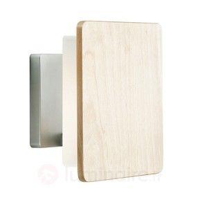 Applique ultramoderne NO MORE avec cache en bois