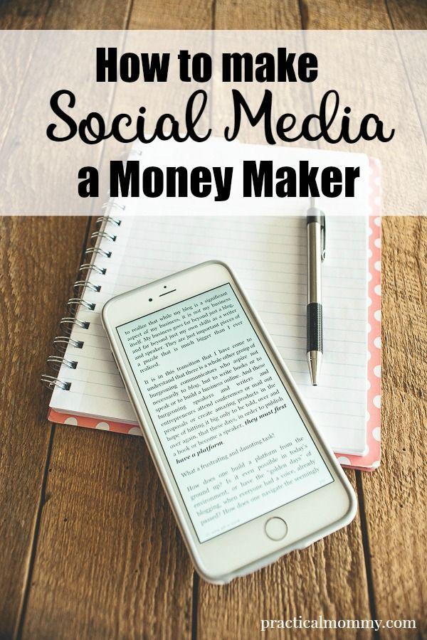 How To Make Social Media A Money Maker