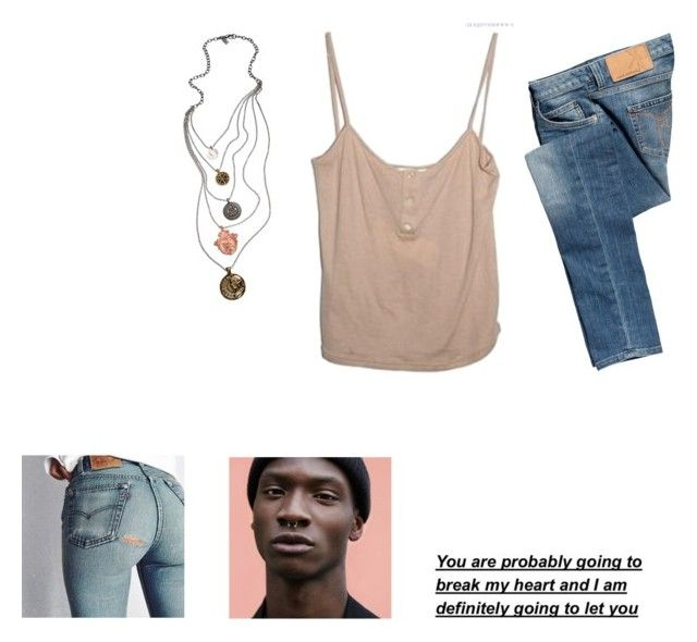 """B r e a k M y H e a r t"" by mercuryal ❤ liked on Polyvore featuring Calvin Klein Jeans and Tat2 Designs"